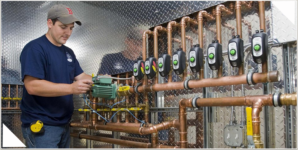 Callahan plumbers receive regular training to keep up on current technology.